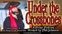 Interview with Jesse Wilkes of The Pirates Code Beard Oils about starting his new business and creating a product that the #pirate community can feel a part of.  http://www.underthecrossbones.com/utc-119-jesse-wilkes-pirates-code-beard-oils/