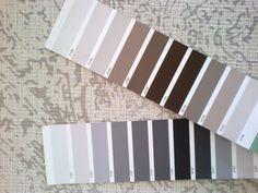 Coordinar tonos de pintura con el papel Samarcande de la pared principal