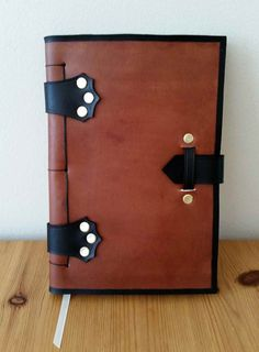 Leather Journal by RedOakLeathercraft on Etsy