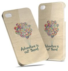 Adventure is Out There Pixar Disney - Hard Cover Case iPhone 5 4 4S 3 3GS HTC Samsung Galaxy Motorola Droid Blackberry LG Sony Xperia & more via Etsy