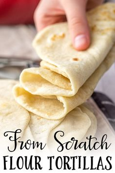 Easy Flour Tortillas From Scratch - Nourish and Fete