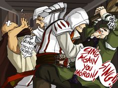 Assassin's Creed: Revenge by Jael-Kolken.deviantart.com on @deviantART