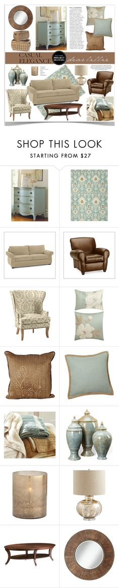 Casual Elegance With Dear Lillie by jpetersen on Polyvore featuring interior, interiors, interior design, home, home decor, interior decorating, Somerset Bay, Pottery Barn, Ethan Allen and Jaipur
