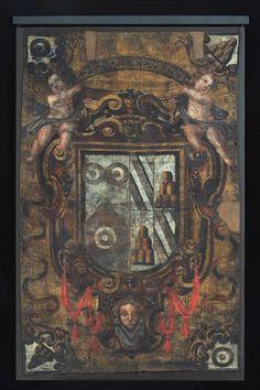 La portiera Oddi-Montesperelli (dated 1543) (mm 1760 x 1080) proviene dalla raccolta antiquaria di Stefano Bardini (1863-1922) e di suo figlio Ugo, acquisita dallo Stato italiano nel 1996 (e denominata Museo e Galleria Mozzi Bardini).