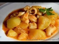 Comparte Recetas - Sepia guisada con patatas