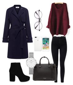 Untitled #11 by taran4734 on Polyvore featuring polyvore fashion style A.L.C. J Brand ALDO Burberry Daniel Wellington clothing