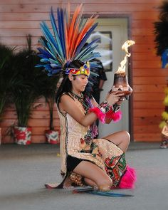 Aztec Fire Dance