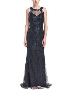 Badgley Mischka Sequin Gown is on Rue. Shop it now.