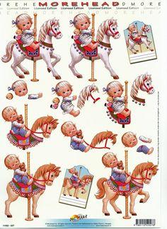 Morehead - Child on Carousel Horse