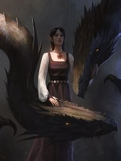 ~Sandancer with Companions~ Dragon Lady by thomaswievegg on DeviantArt Fantasy Inspiration, Character Inspiration, Character Art, Dragon Knight, Dragon Rider, Fantasy Dragon, Fantasy Warrior, Dragon Girl, Dragon Lady