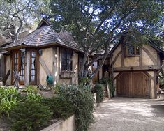 Carmel, California.  The houses in Carmel are awesome!!  I love that town