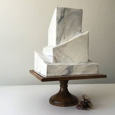 "grey marble ""wedding cake"" stone"