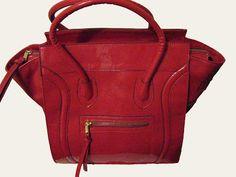 Bolsa Celine Inspired Vermelha