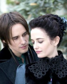 Eva Green with Reeve Carney | 'Penny Dreadful'
