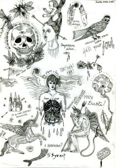 Tattoo designs? Unknown to me...