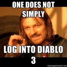 Diablo 3's Best Error 37 Jokes - (PC Feature at IGN)  #diablo3 - yeah I kept having problems on 5/15/12.