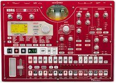 Korg Drum Machine and Synth Music Machine, Drum Machine, Electronic Music Instruments, Musical Instruments, Music Sequencer, Vintage Synth, Drum Patterns, Music Gadgets, Minimal Techno