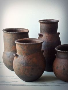 Pottery Pots, Glazes For Pottery, Ceramic Pottery, Ceramic Planters, Ceramic Clay, Earthenware, Stoneware, African Pottery, Pottery Sculpture