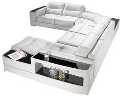 Añade la sorprendrente #rinconera #Franklin en tu salón #sofá Modern Sofa, Living Room Modern, Living Room Sofa, Living Room Furniture, Sofa Furniture, Furniture Design, Drawing Room Design, Smart Bed, Unique Sofas