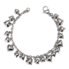Mega Clearance Stainless Steel Charm Bracelet and Necklace