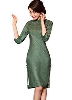 270161624 Traditional Taste, Party Gowns, Dress Party, Cheongsam Dress, Spring  Outfits, Party Dresses, Party Dress, Gowns For Party, Gown Party Wear
