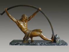 """CHIPARUS Sculpture """"L'âge du bronze"""""""