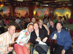 we went on a cruise with great new friends