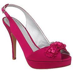raspberry wedding shoes