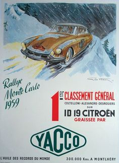 Image result for classic car rallies posters