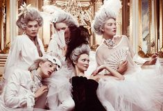 Garden of the Dreamers: Marie Antoinette editorial