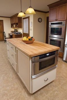 Microwave Drawers Save Your Counters And Wall Cabinet Space Put  Microwave In A Drawer Island12
