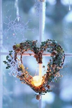 heart with candle <3