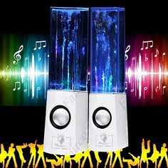 USB Powered Water Dancing Speaker for PC Laptop MP3 MP4 Cell Phone. ECA LISTING BY Eshopping, Kajang, Malaysia. Sale ends June 14th!