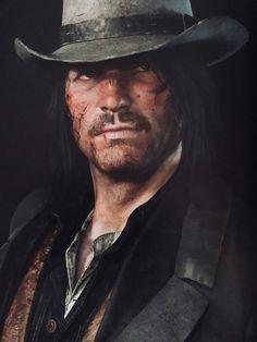 Wild West Games, Red Dead Redemption 1, John Marston, Read Dead, Dead Pictures, Rdr 2, Dark Art Drawings, West Art, Male Face