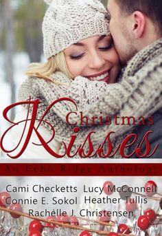 Christmas Kisses is a collection from five bestselling and award winning authors. #HolidayBook #book