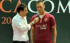 Roma, Totti re a vita: giallorosso fino al 2016 #totti #roma #pallotta #rinnovo #2016