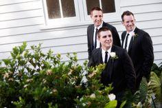 Almost candid groomsmen pics