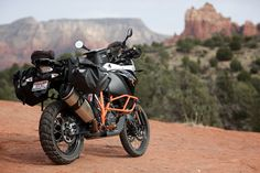 Enduristan Monsoon 3 Saddlebags on 1190 Adventure R with pannier frames Ktm 950 Adventure, Ktm Motorcycles, Dual Sport, Bike Accessories, Cool Bikes, Monsoon, Road Trips, Vehicles, Dogs