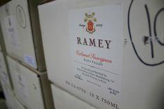 Found in the Ramey Library, their Cabernet Sauvignon 2009 #wine