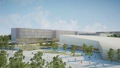 BGU University North Campus Master Plan,Courtesy of Chyutin Architects