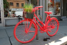 Neon orange art bike gives rise to the Rob Ford–approved Good Bike Project by Morgan Passi, posted via torontolife.com