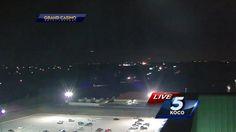 OVNI Hoje!…OVNI / UFO é filmado em Oklahoma City, EUA, durante transmissão de notícias ao vivo - OVNI Hoje!...