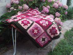 Hermosa Manta Pie De Cama Crochet /decoracion