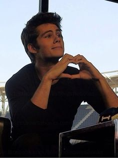 i <3 you, too Dylan O'Brien ....how adorable is he @Freedom ??