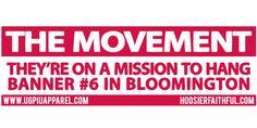 FREE HoosierFaithful Sticker