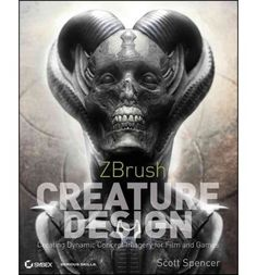 Zero in on the most cutting-edge trend in creature design for film and games: ZBrush!  ZBrush allows you to develop a creature for film and games in realistic, 3D format. With this book, you will learn how to create a unique creature from start to finish and search for and repair any foreseeable problems.
