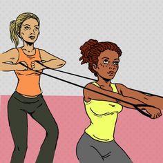 35 Kick-Ass Partner Exercises | Greatist