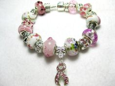My Team My Beads found on #Sellergroup or Etsy listing at https://www.etsy.com/listing/178300945/think-pink-breast-cancer-european-style
