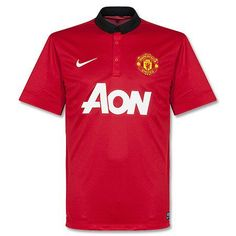 2013-14 Manchester United Home Football Shirt If I can't buy it I'm going to steal it lol jkjk