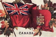 Postcrossing notes: The Canadian Red Ensign